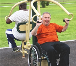 Greenfields Accessible Fitness Equipment